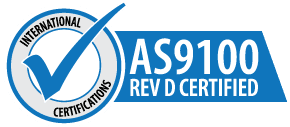 AS9100 Rev D Certified